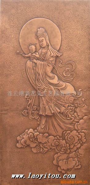 手工锻铜浮雕-雕塑,铜雕,浮雕 老艺头雕塑网 老艺头环境艺术工程有